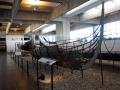 Дракар викингов - классический прототип погребальной ладьи. Роскильде, Дания