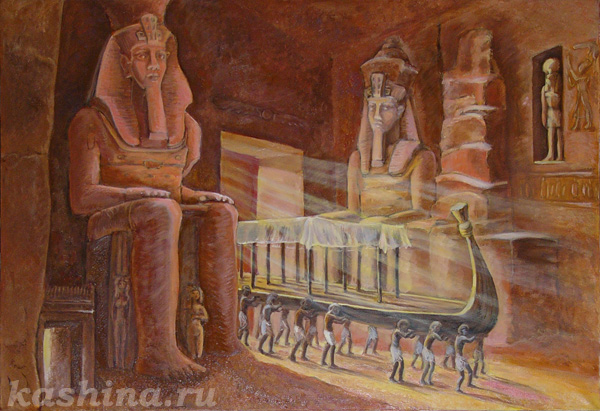 «Ладья Вечной Жизни», Евгения Кашина. Новосибирский Музей Мировой Погребальной Культуры